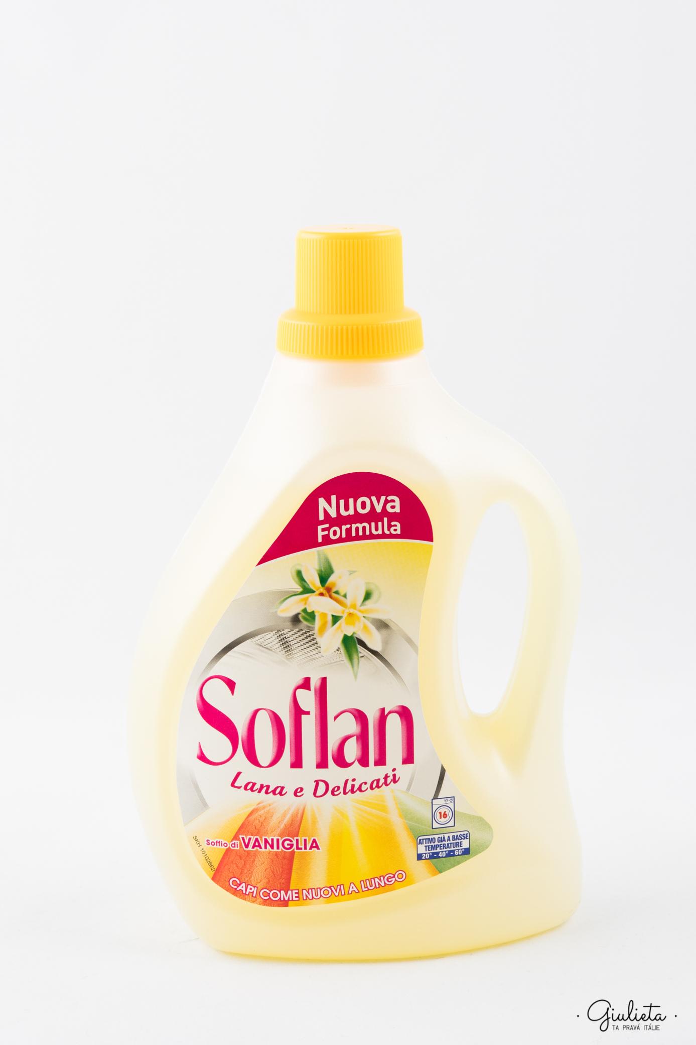 Soflan prací gel Vanilka, 16 pracích dávek
