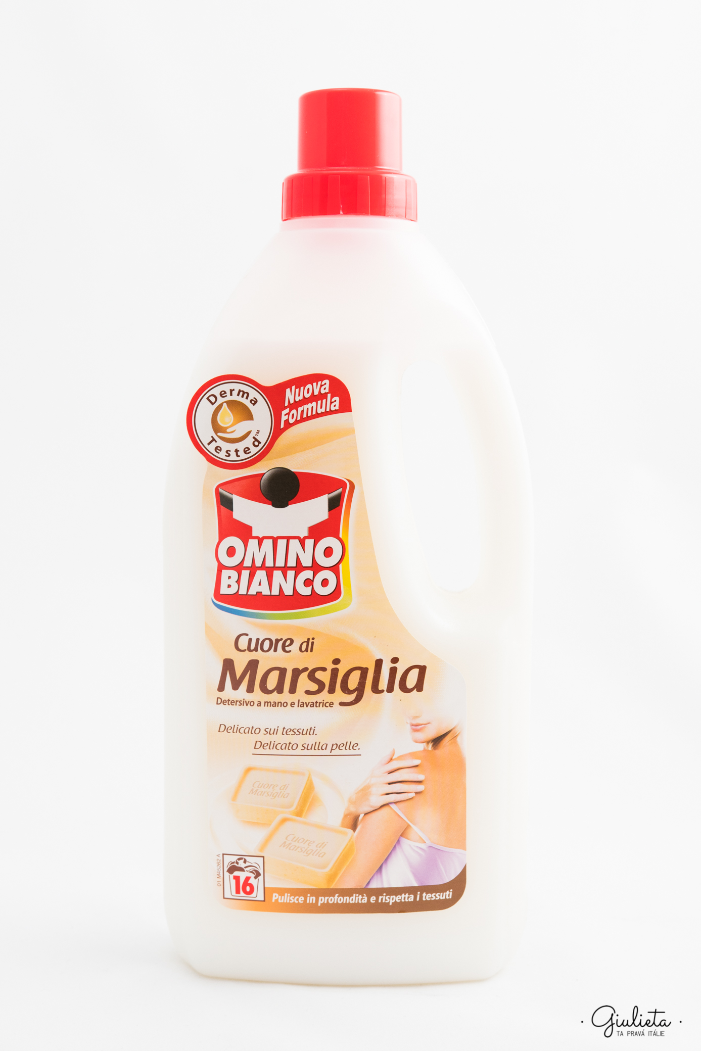 OMINO BIANCO PRACÍ GEL BUCATO MARSIGLIA 1 L