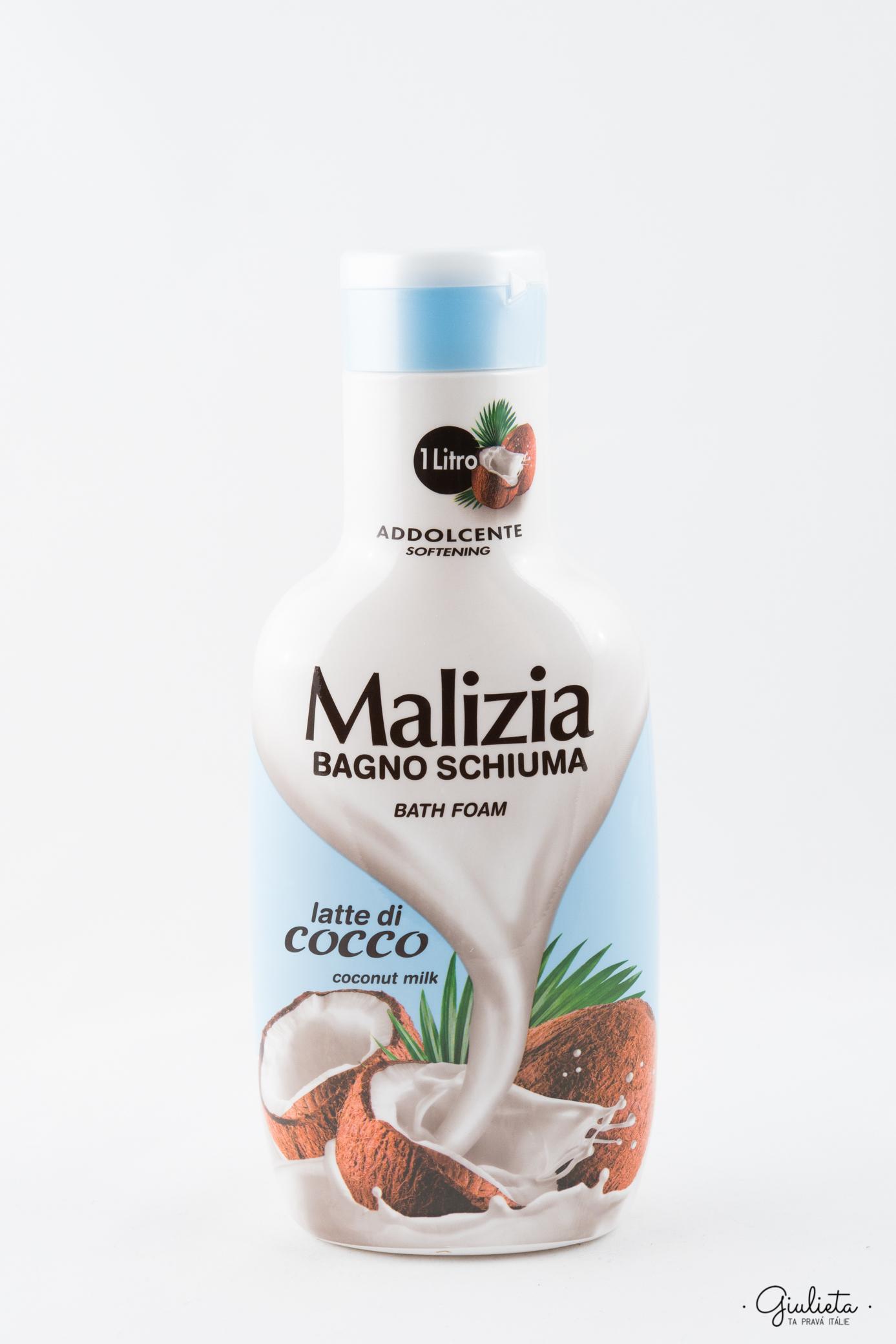 MALIZIA PĚNA DO KOUPELE, COCCO 1 L