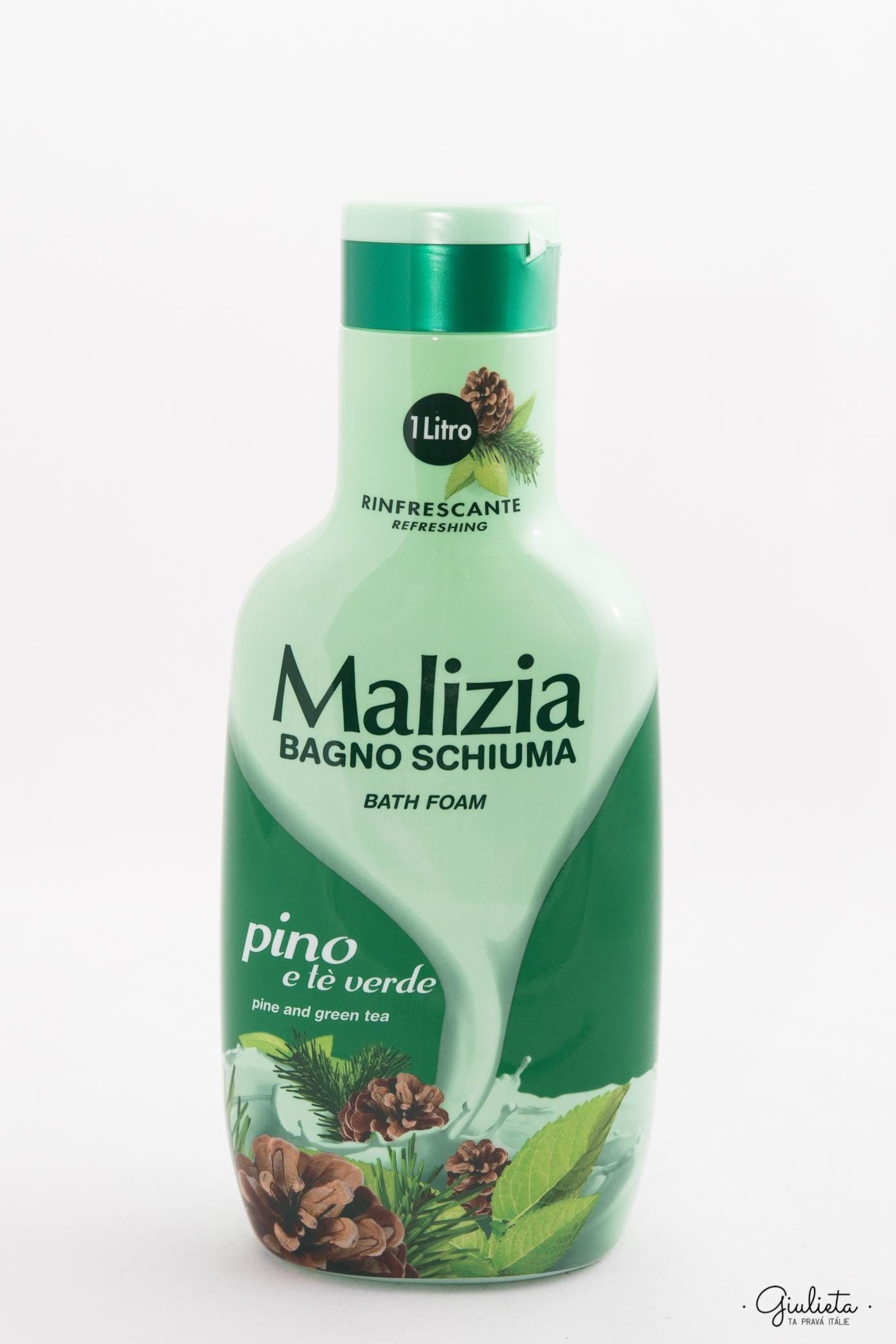MALIZIA PĚNA DO KOUPELE, PINO 1 L