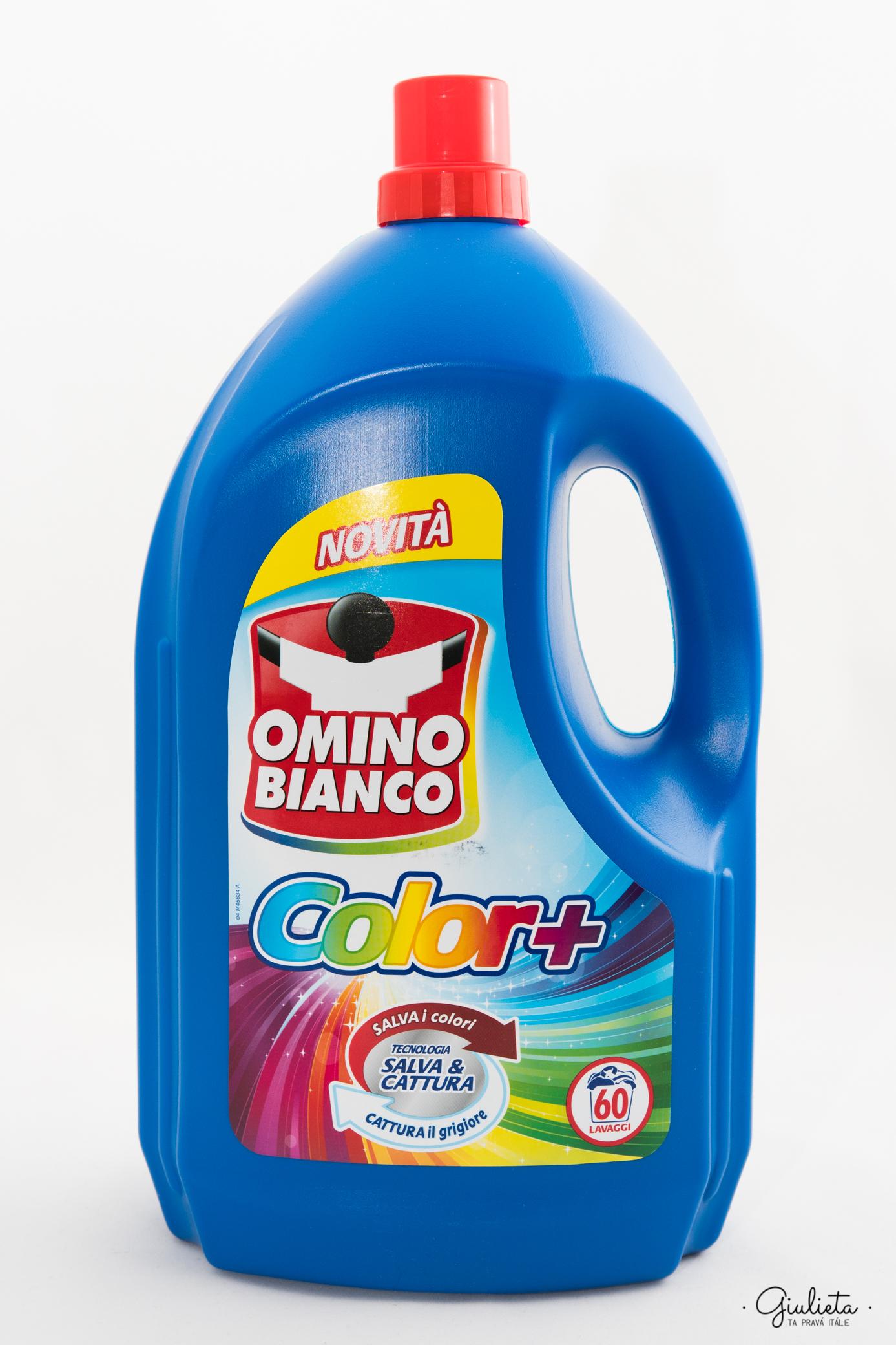 OMINO BIANCO PRACÍ GEL, 60 MIS. COLOR+ 3,9 L