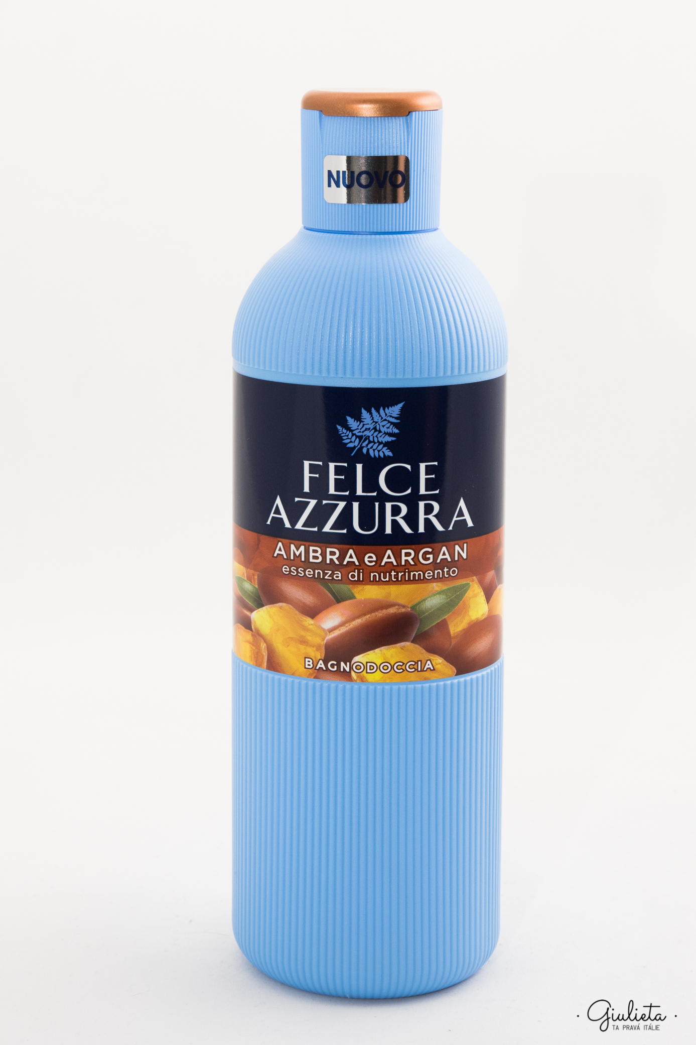 Felce Azzurra sprchový gel/pěna do koupele Ambra e Argan, 650 ml