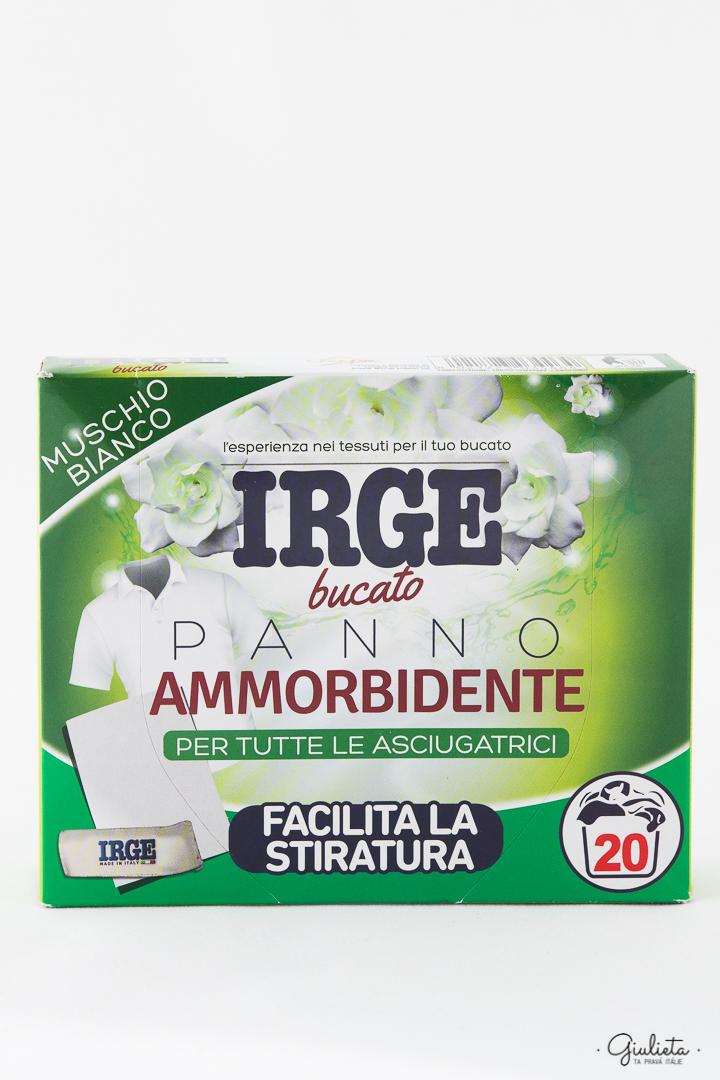 IRGE PANNI AMMORB. + PROFUMATI X ASCIUGATRICE MUSCHIO * 20 PZ.