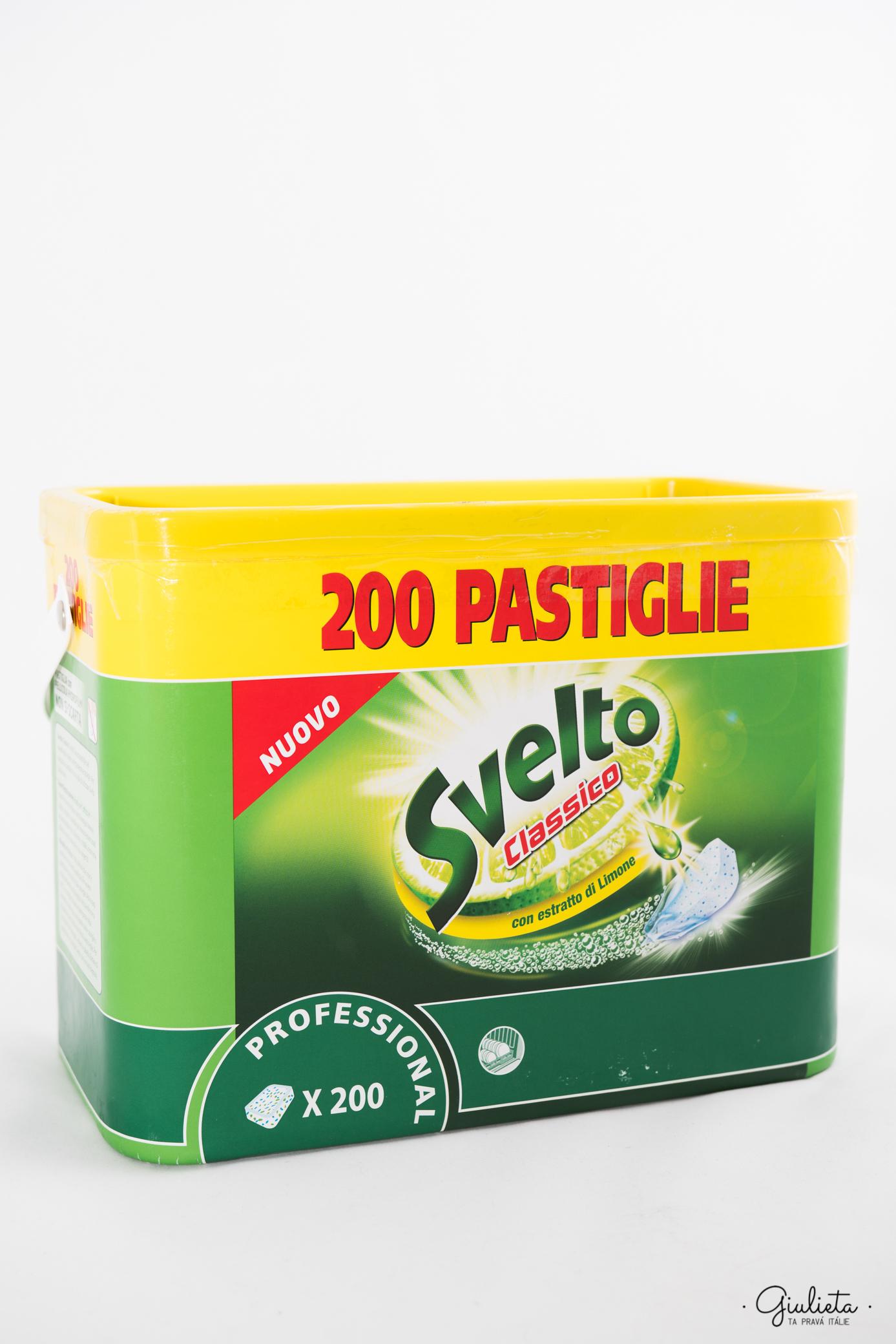 Svelto classic tablety do myčky nádobí, 200 ks