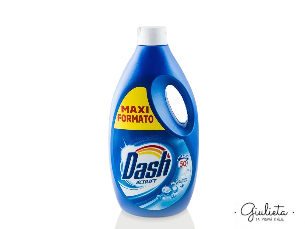 Dash prací gel Actilift Bicarbonato, 50 pracích dávek