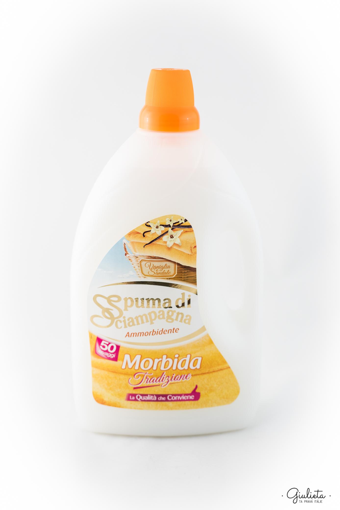 Spuma di Sciampagna aviváž Morbida s vůní vanilky & santalového dřeva, 50 pracích dávek