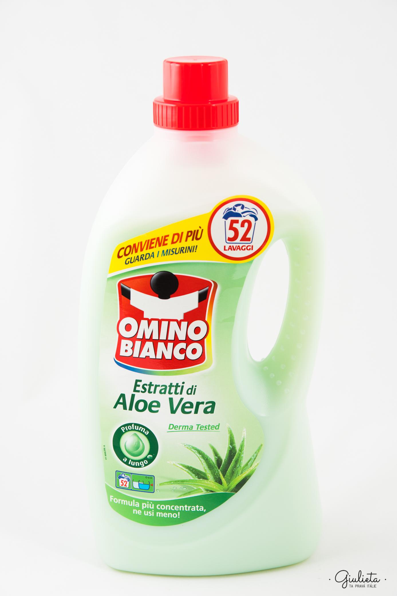Omino Bianco prací gel Aloe Vera, 52 pracích dávek