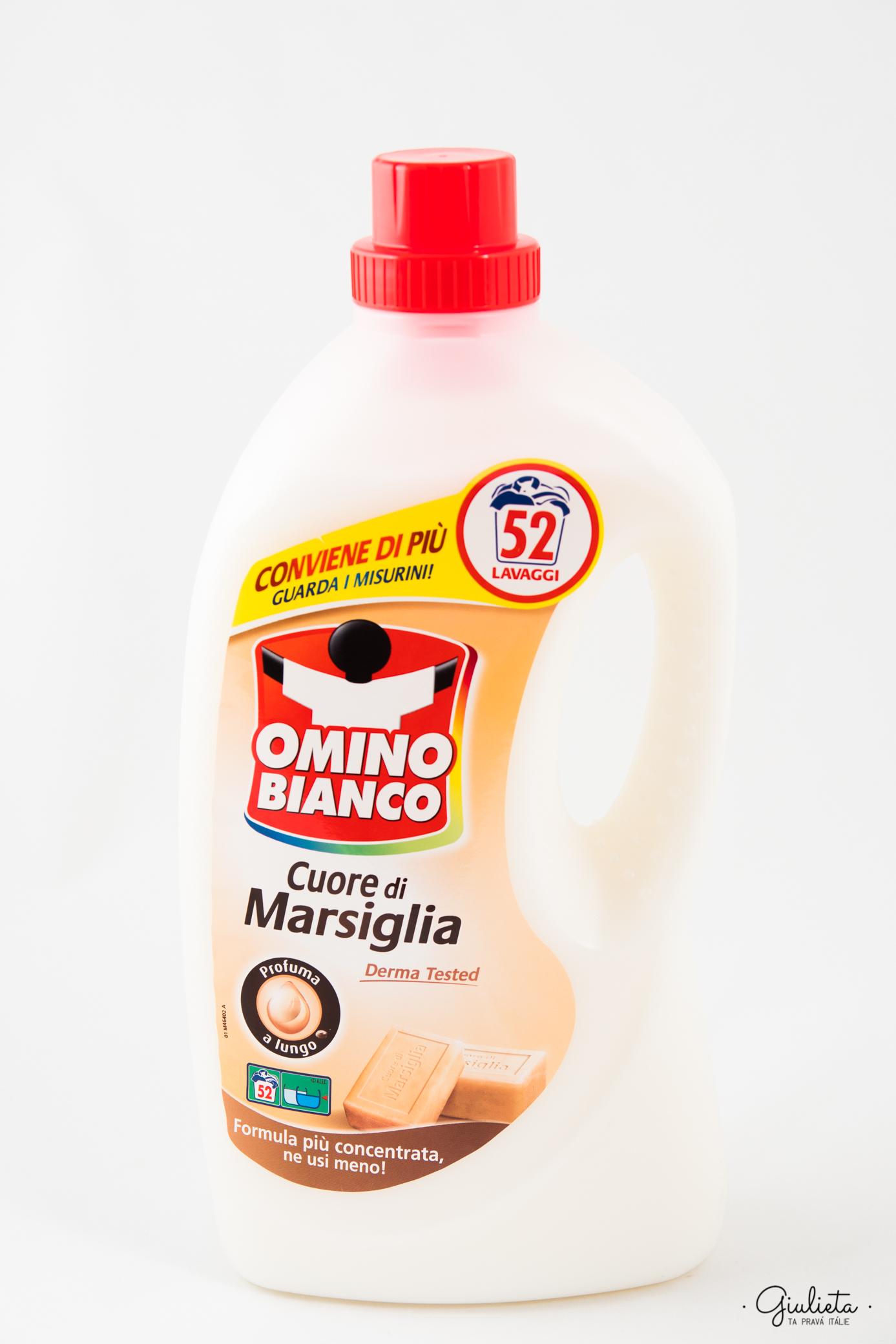 Omino Bianco prací gel Marsiglia, 52 pracích dávek