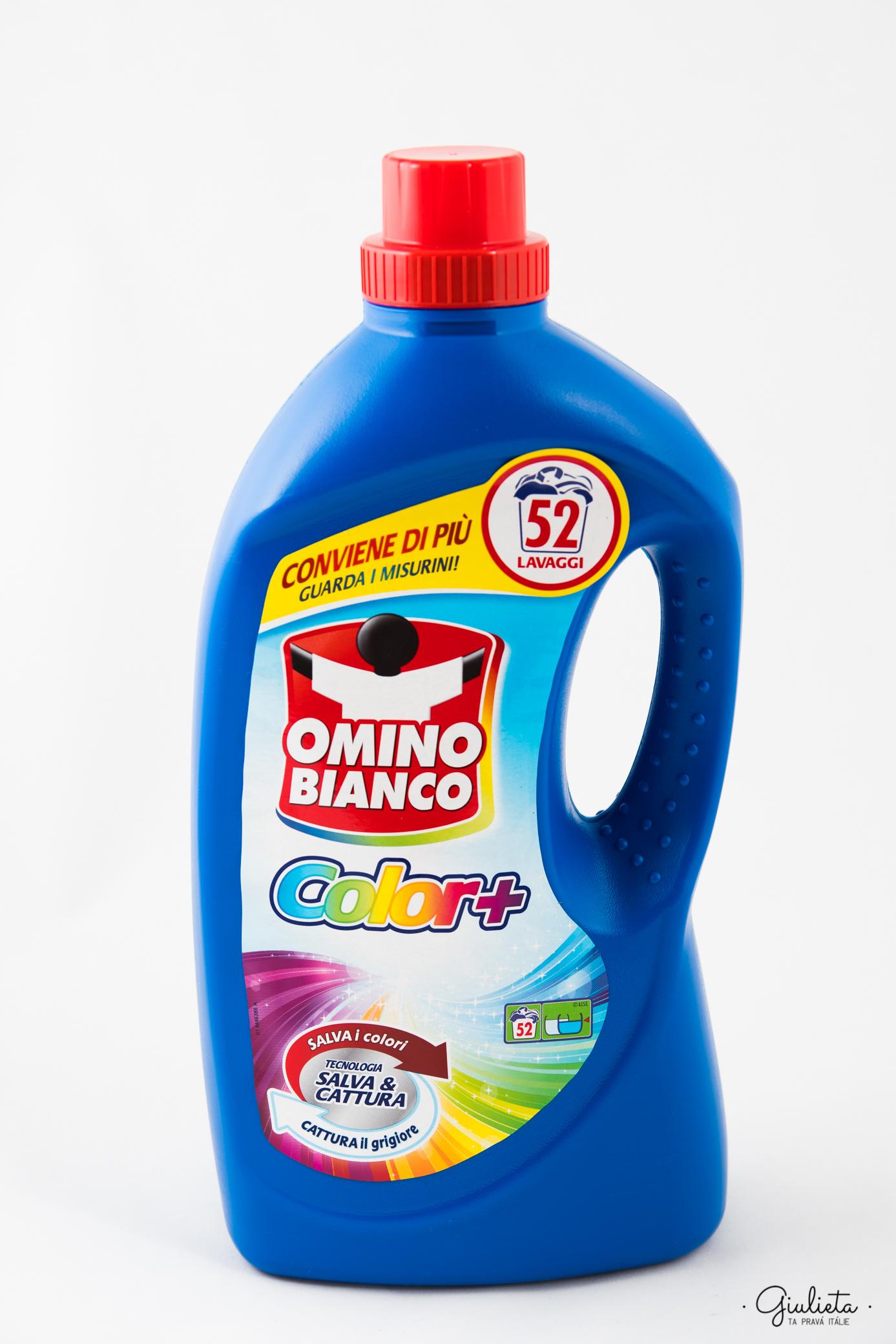Omino Bianco prací gel Color+, 52 pracích dávek