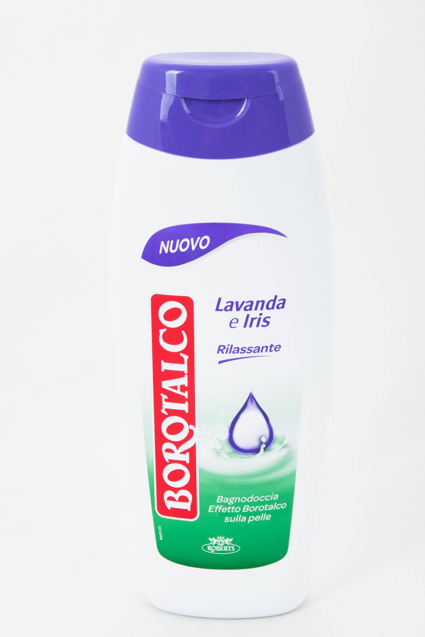 Borotalco sprchový krém/pěna do koupele s vůní levandule a kosatce, 500 ml