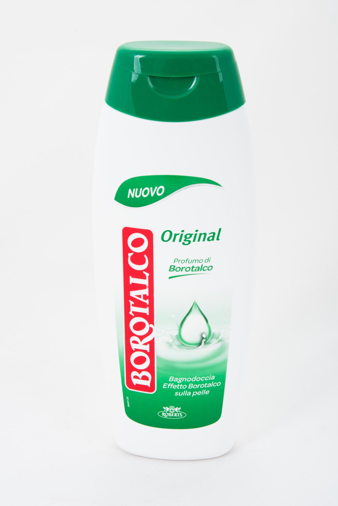 Borotalco sprchový krém/pěna do koupele s nezaměnitelnou vůní Borotalco, 500 ml