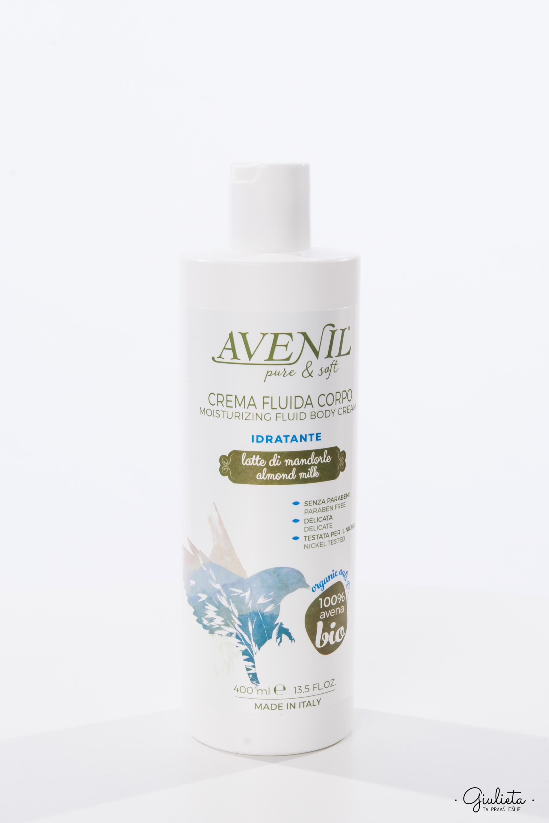 Avenil hydratační tělové mléko, 400 ml