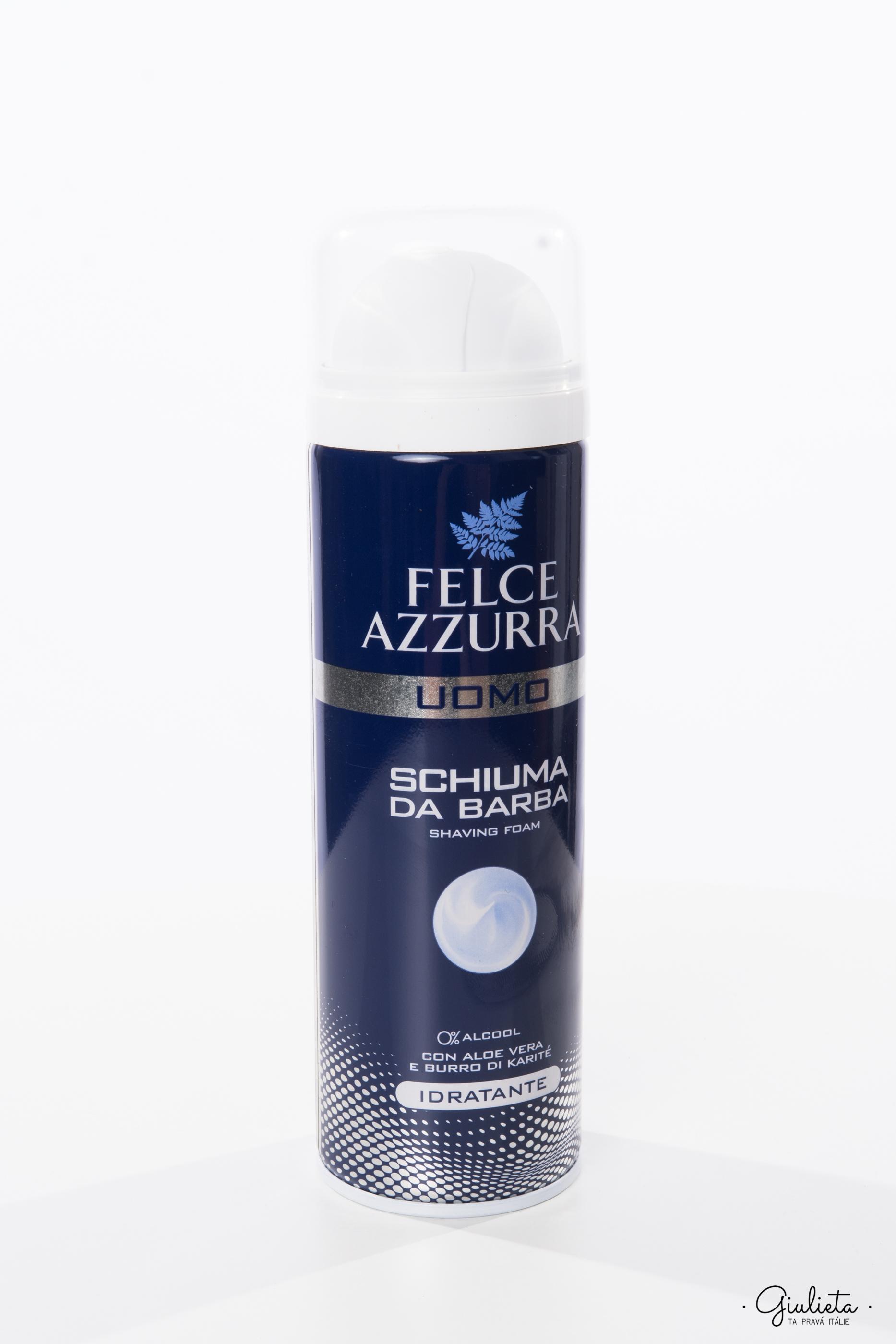 Felce Azzurra pěna na holení pro muže Idratante, 300 ml