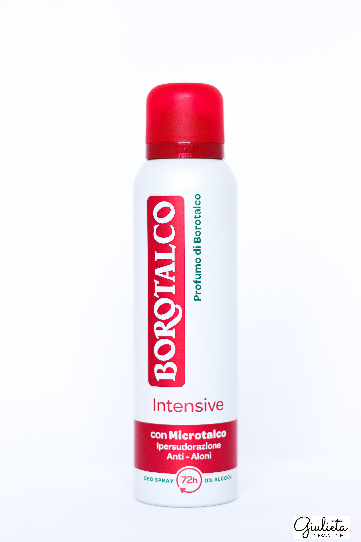 Borotalco deodorant ve spreji Intensive, 150 ml