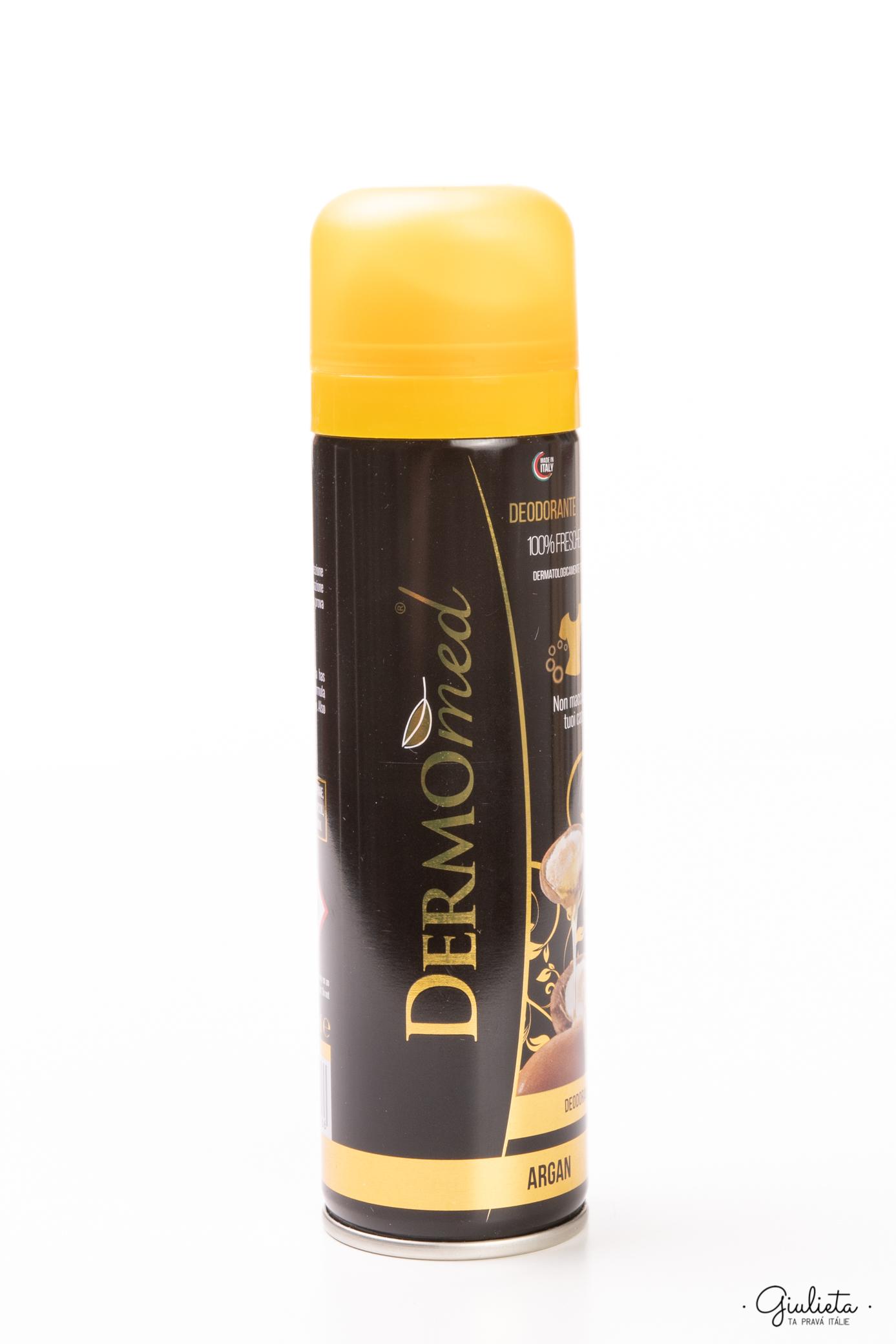 Dermomed deodorant ve spreji Argan, 150 ml