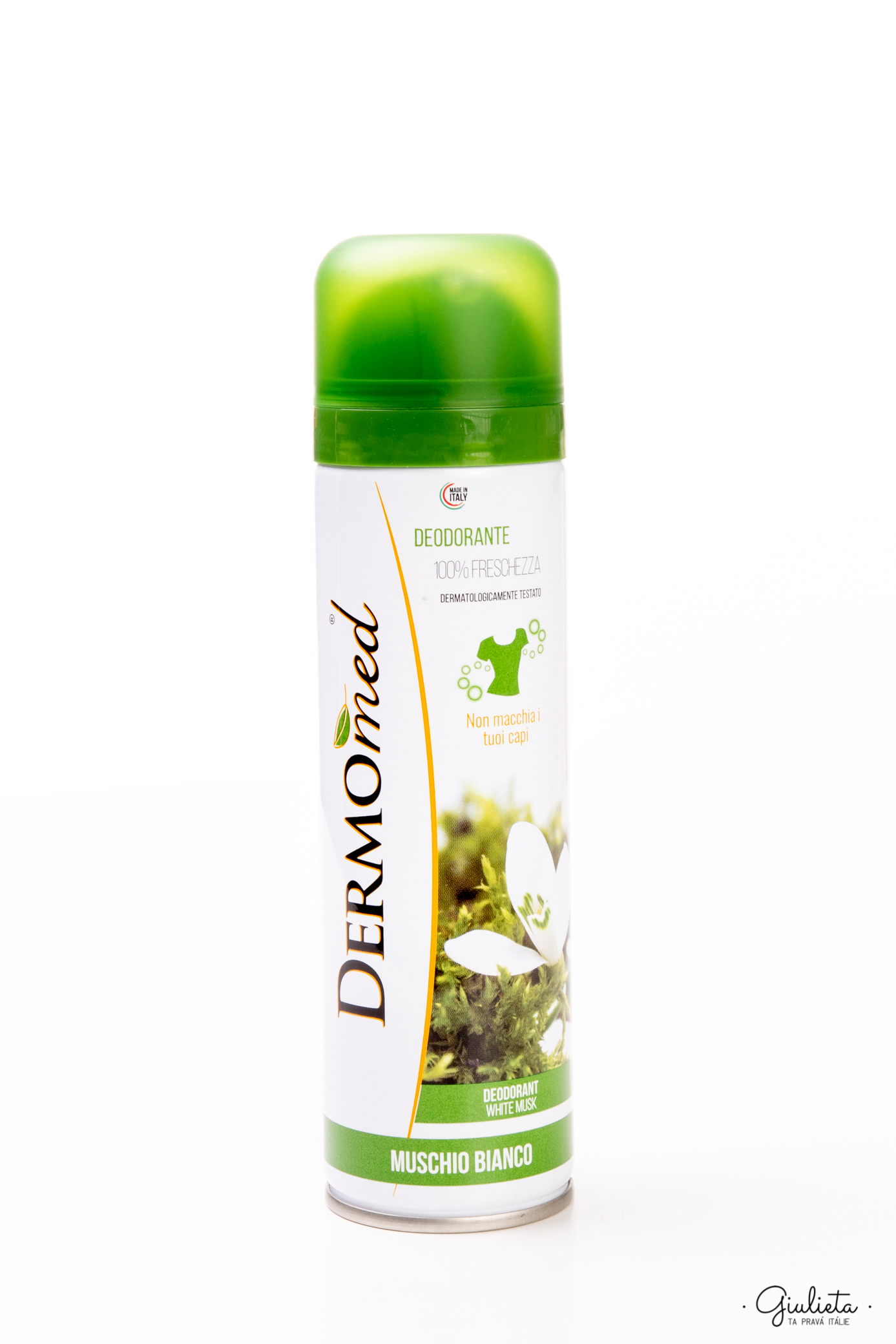 Dermomed deodorant ve spreji Muschio Bianco, 150 ml