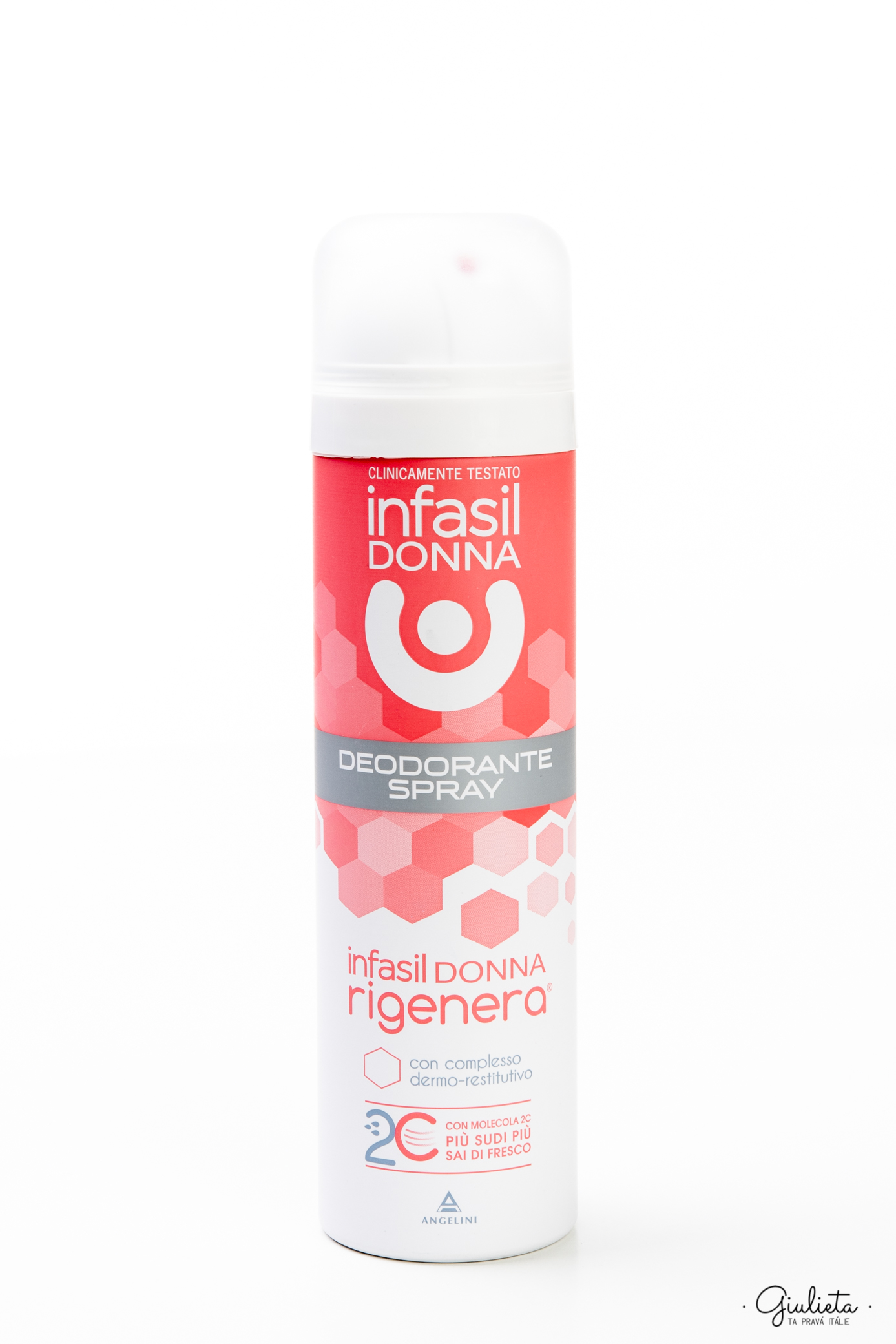 Infasil deodorant ve spreji Donna Rigenera, 150 ml