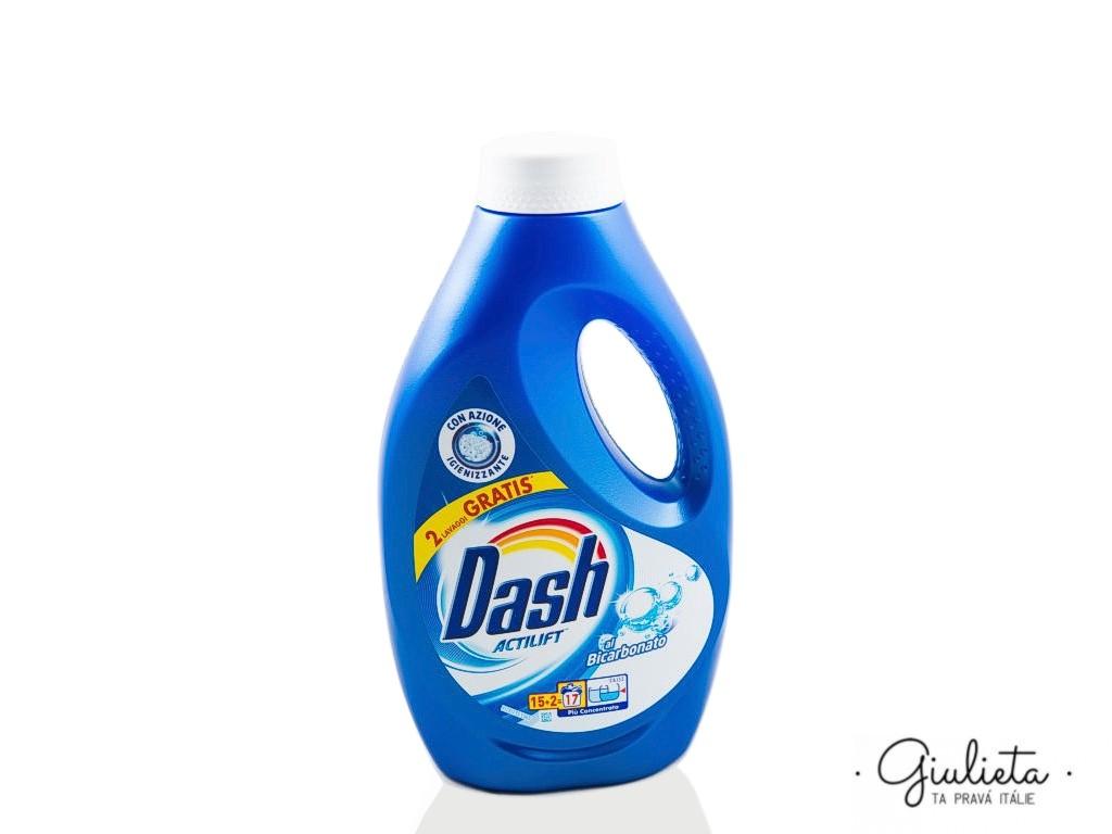 Dash prací gel Actilift Bicarbonato, 15+2 pracích dávek