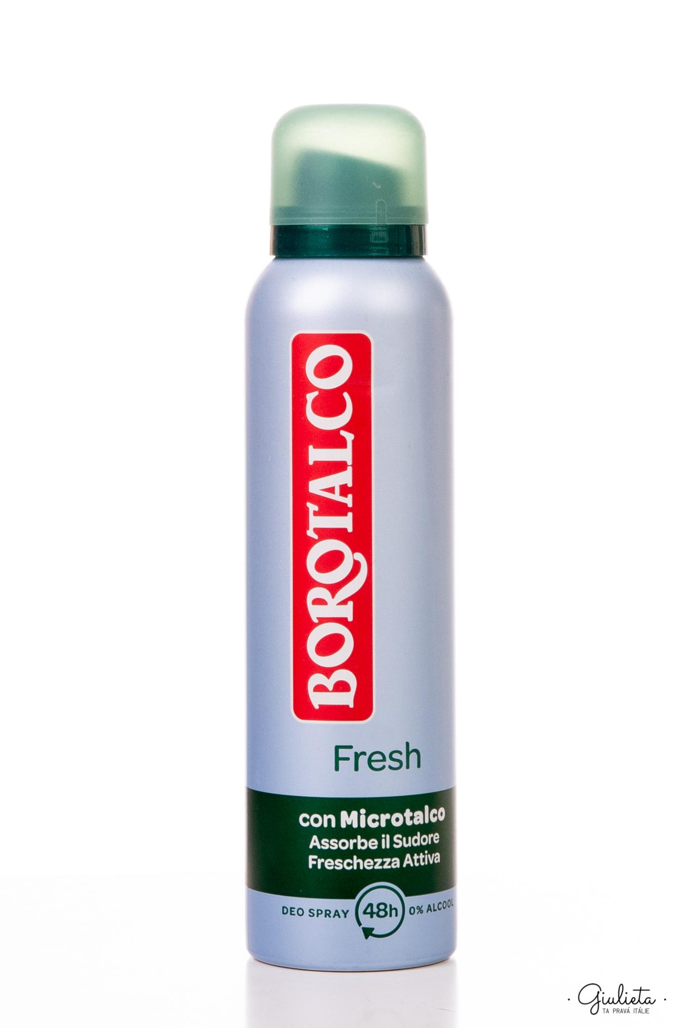 Borotalco deodorant ve spreji Fresh, 150 ml