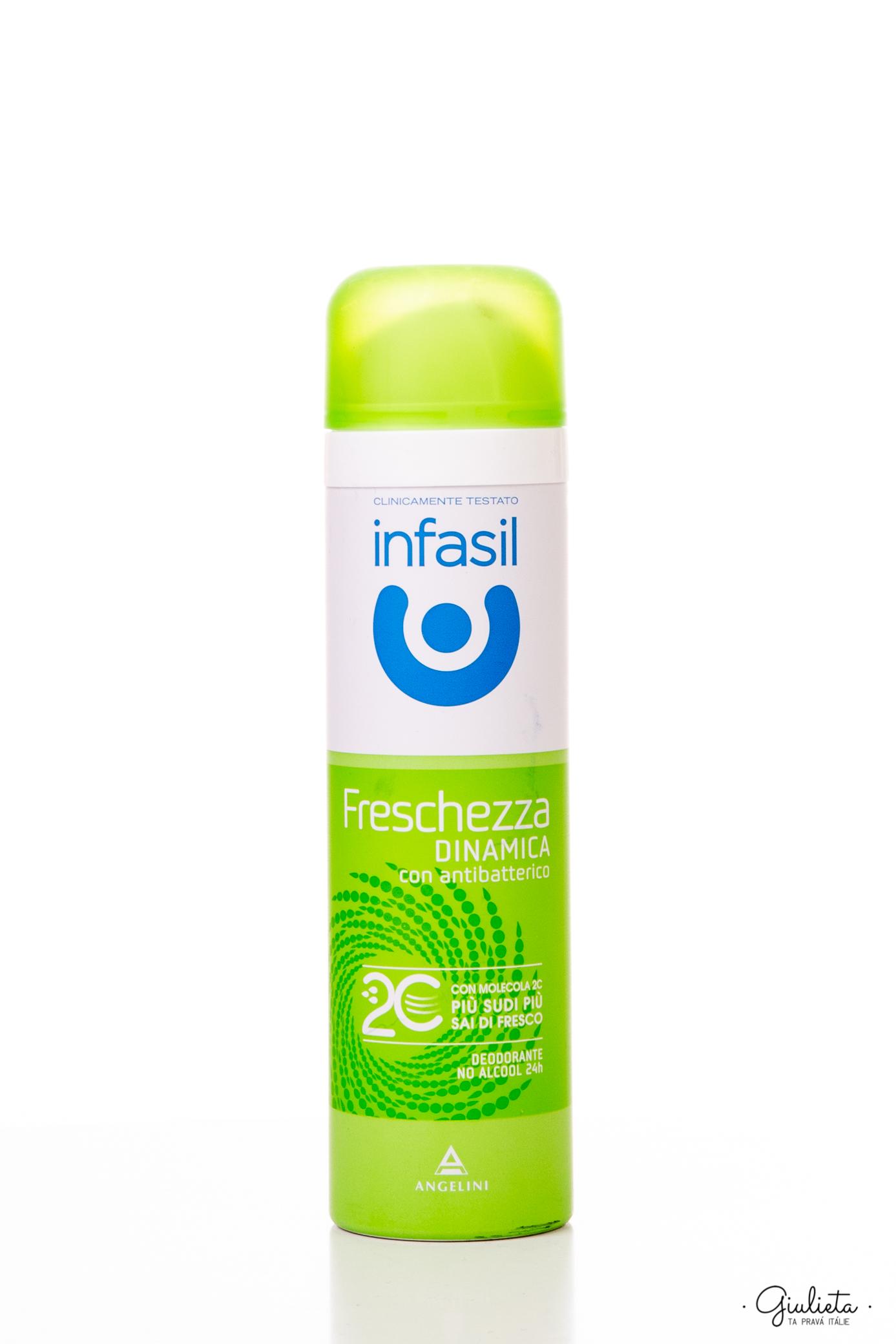Infasil deodorant ve spreji Freschezza Dinamica, 150 ml