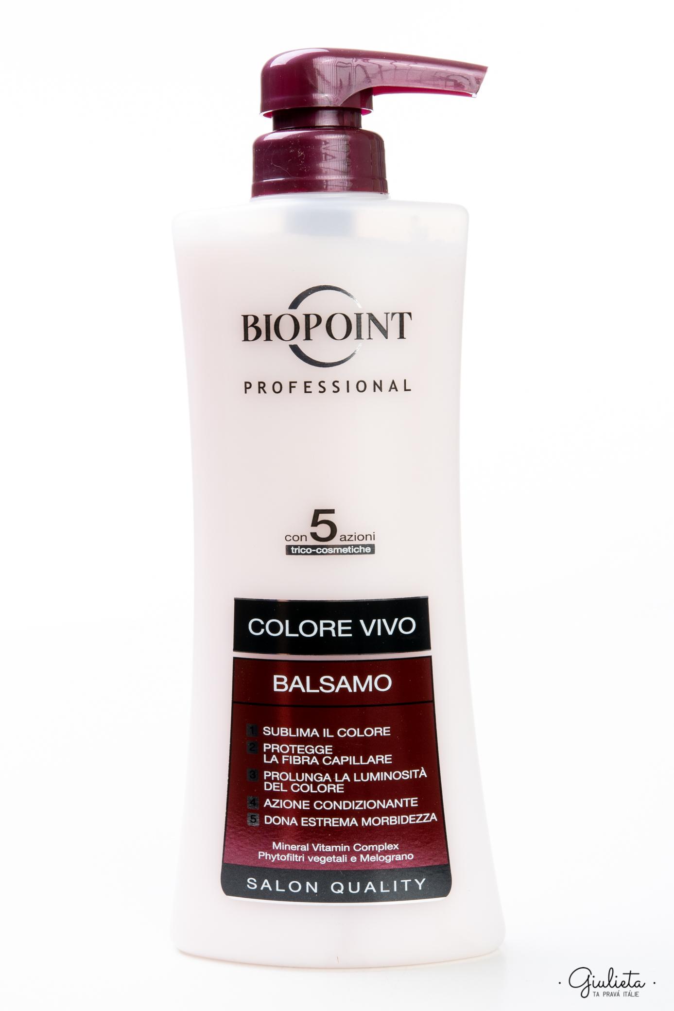 Biopoint Balsamo Colore Vivo, 400 ml