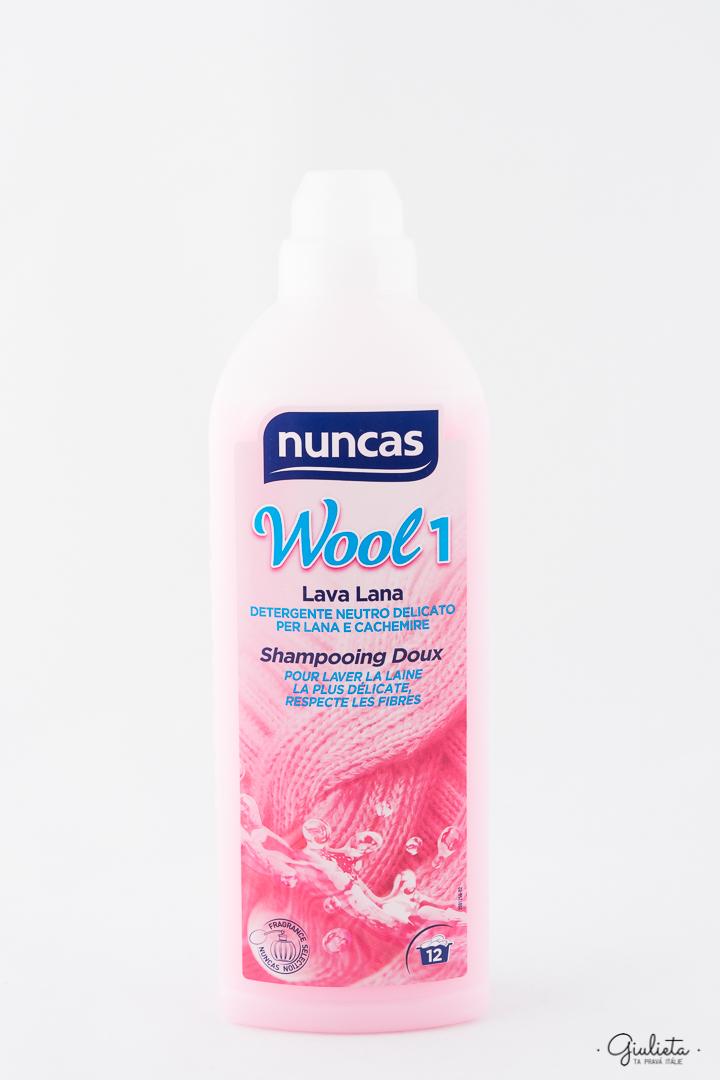 Nuncas prací gel na vlnu Lava Wool 1, 12 pracích dávek
