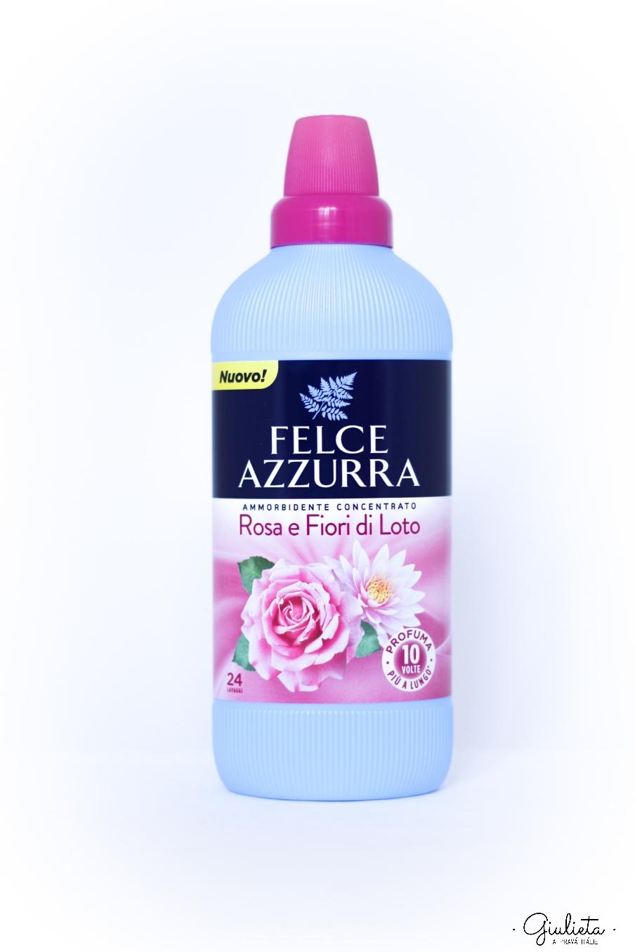 Felce Azzurra aviváž koncentrát s vůní růží a lotosového květu, 600 ml