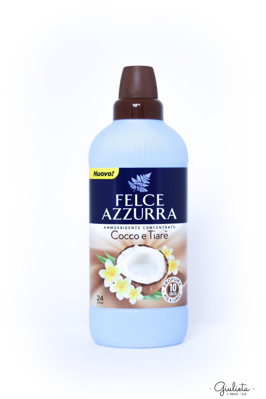 Felce Azzurra aviváž koncentrát s vůní kokosu a Tiarè, 600 ml
