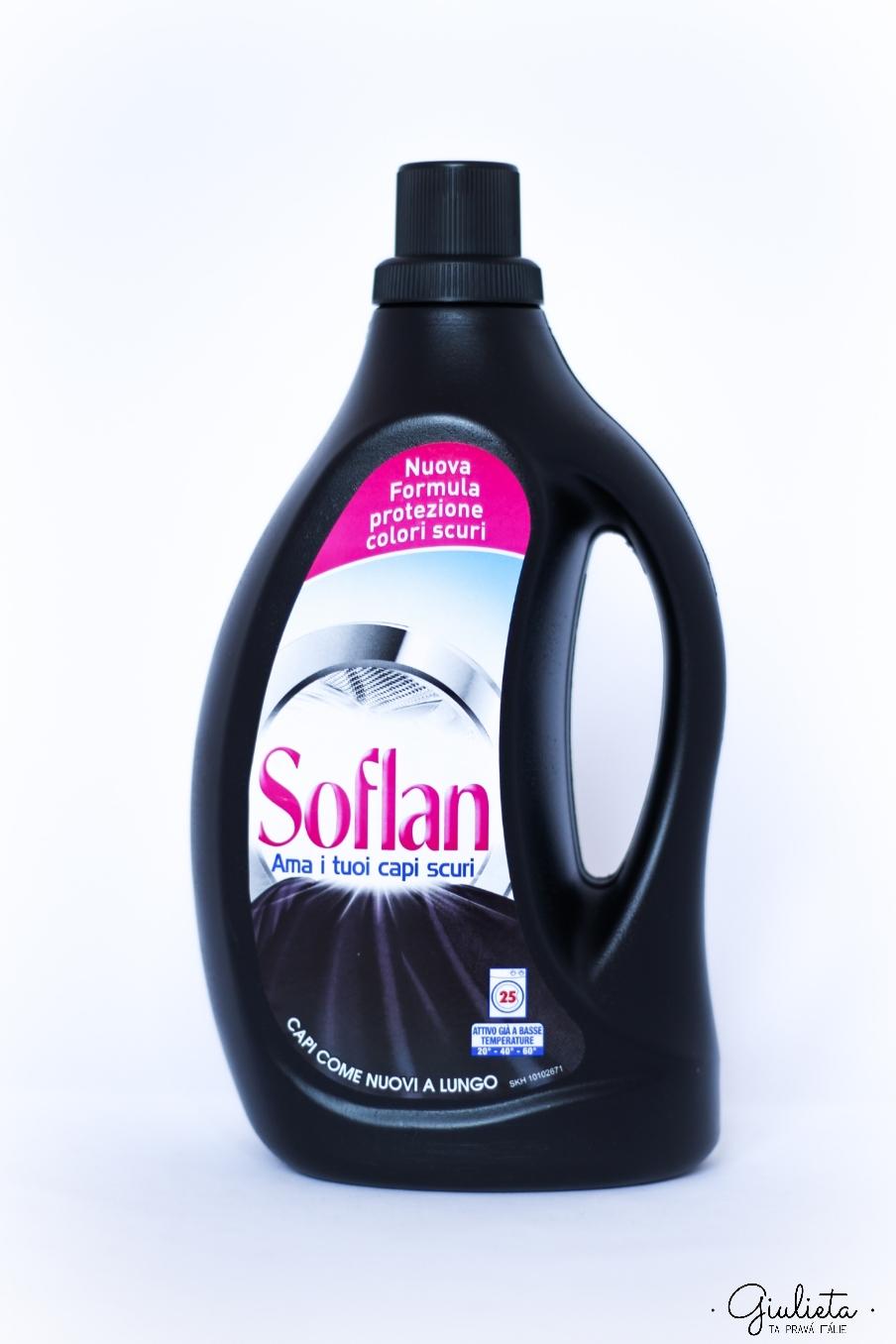 Soflan tekutý prací gel Capi Scuri, 25 pracích dávek
