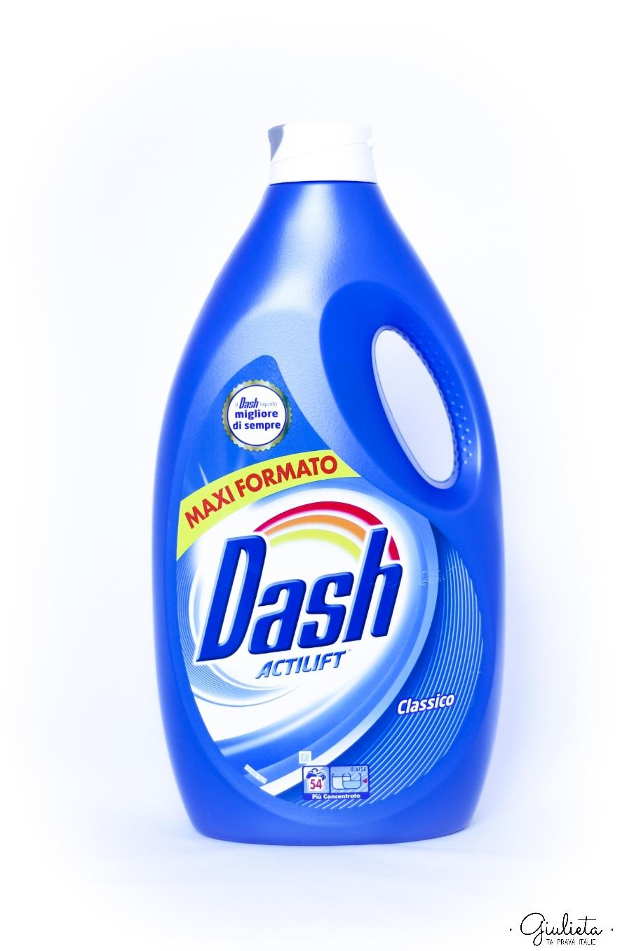 Dash prací gel Actilift Classico, 54 pracích dávek
