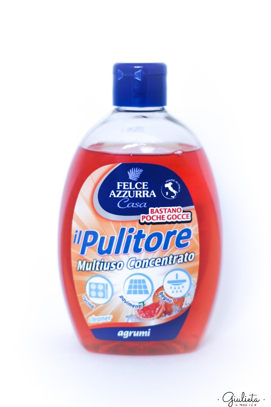 Felce Azzurra koncentrovaný univerzální čisticí prostředek s citrusovou vůní, 500 ml