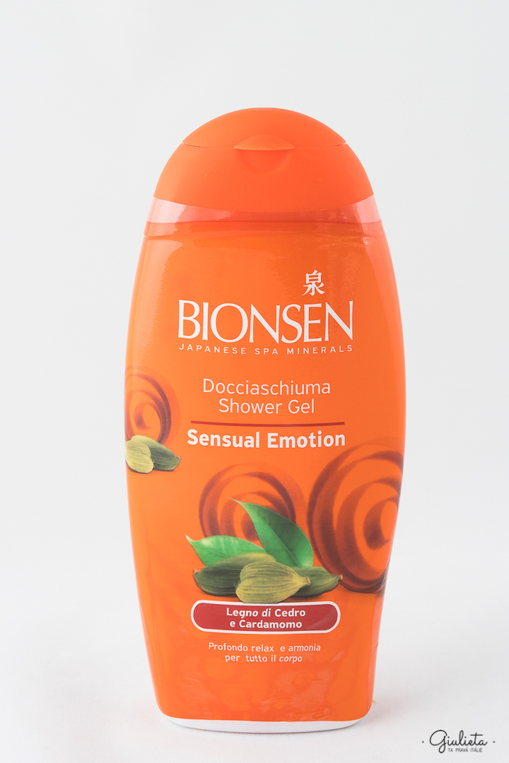 BIONSEN SPRCHOVÝ GEL, SENSUAL EMOTION 250 ML