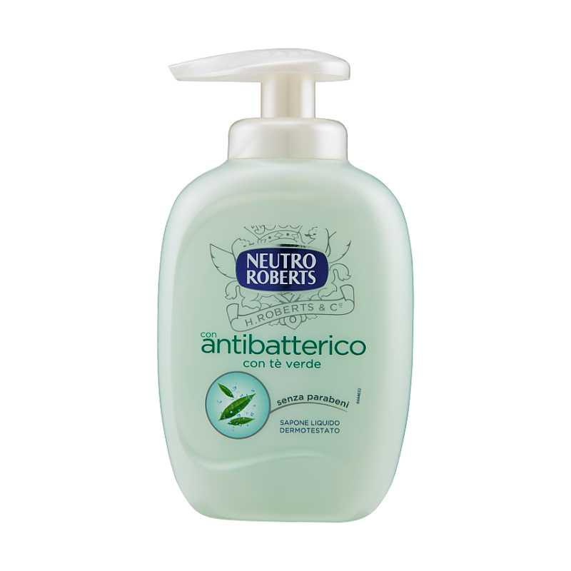 Neutro Roberts antibakteriální tekuté mýdlo con tè verde, 300 ml