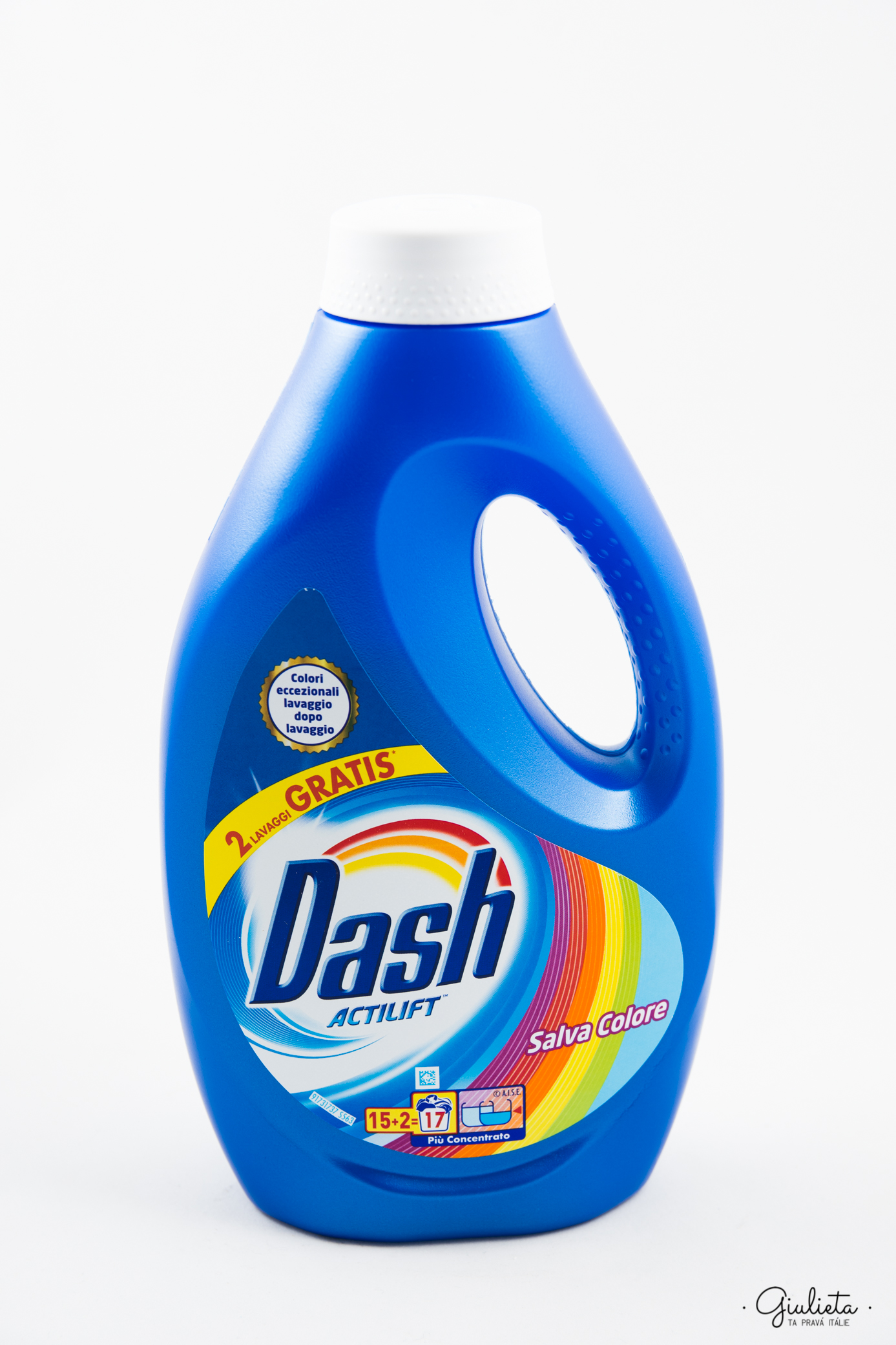 Dash prací gel Actilift Salva Colore, 15+2 pracích dávek