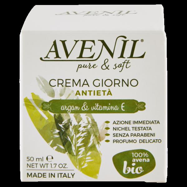 Avenil pure & soft denní krém proti stárnutí pleti, 50 ml