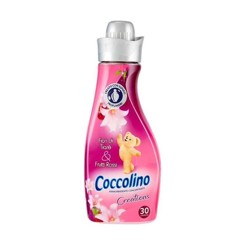 Coccolino koncentrovaná aviváž Creations Fiori di Tiaré & Frutti Rossi, 30 pracích dávek