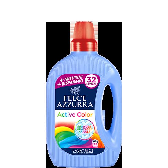 Felce Azzurra prací gel Active Color, 32 pracích dávek