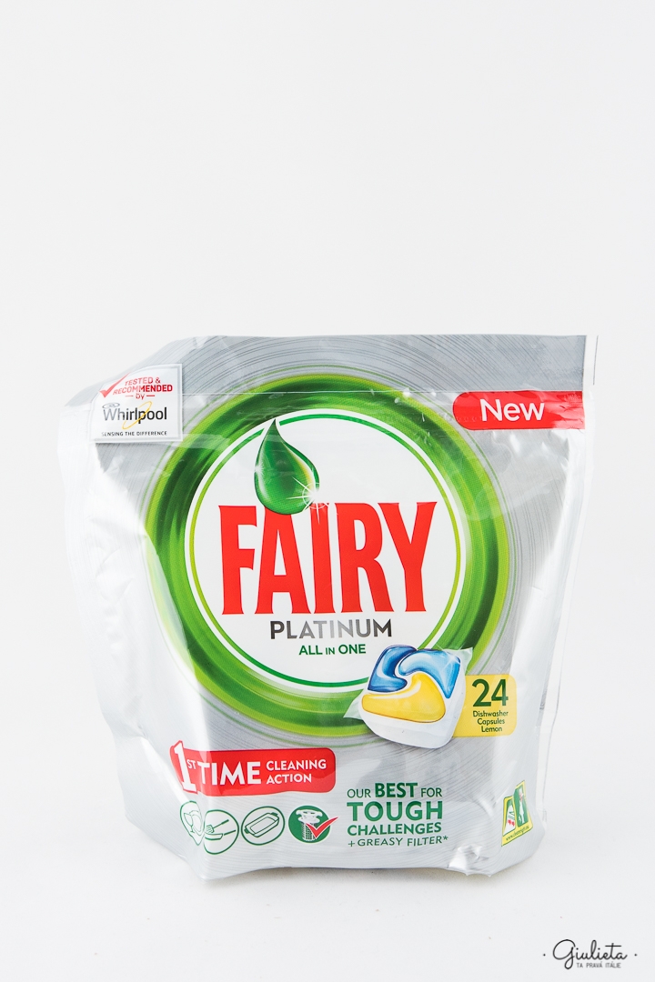 FAIRY KAPSLE DO MYČKY, 24 PLATINUM LEMON