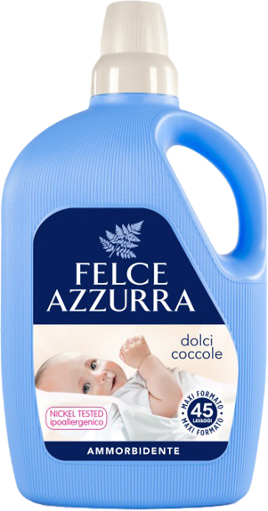 Felce Azzurra aviváž pro citlivou pokožku Dolci Coccole, 3 litry