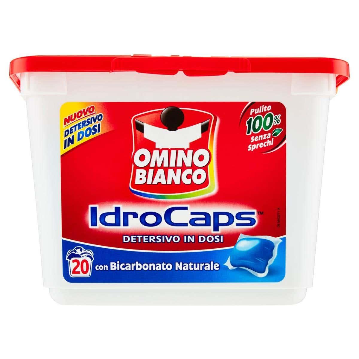 Omino Bianco gelové kapsle na praní s prací sodou, 20 ks