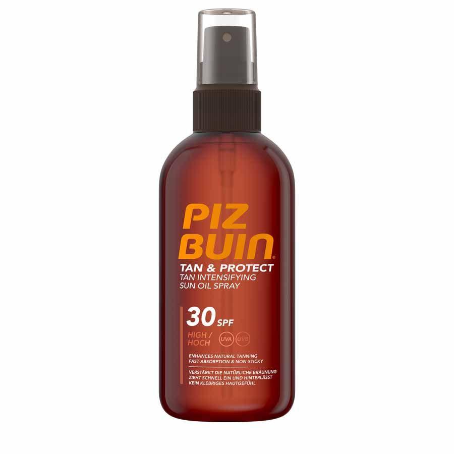 Piz Buin Tan & Protect Tan Intensifying Sun Oil Spray SPF 30, 150ml