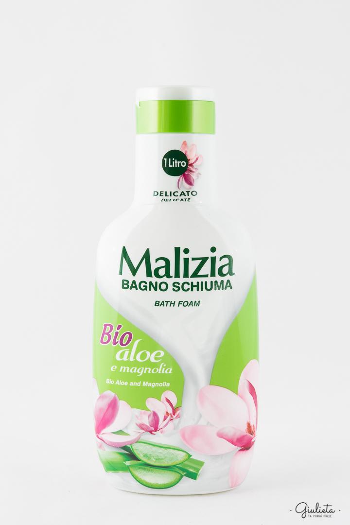 Malizia pěna do koupele Bio Aloe/Magnolia, 1 litr