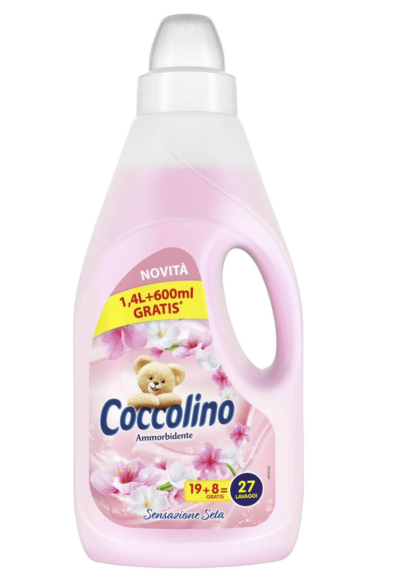 Coccolino aviváž Sensazione Seta, 2 litry