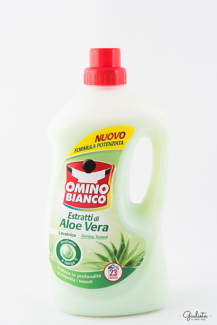 OMINO BIANCO PRACÍ GEL, ALOE VERA 1,495 L