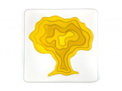 Keramická miska na olivový olej Tree