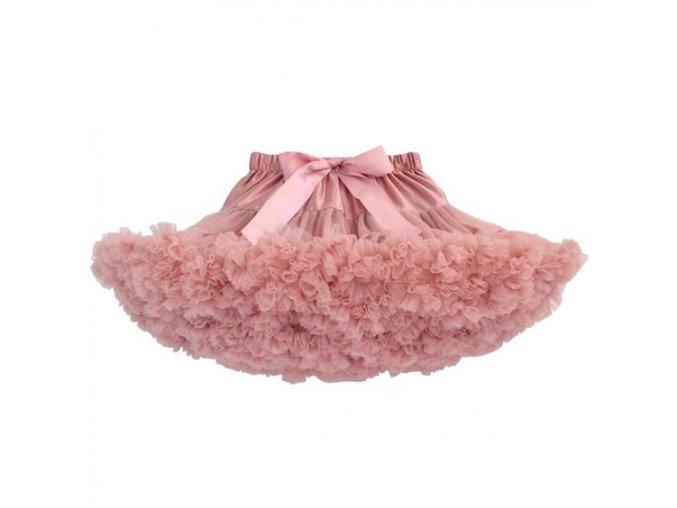 Dívčí TUTU PETTI sukýnka - starorůžovátutu old pink