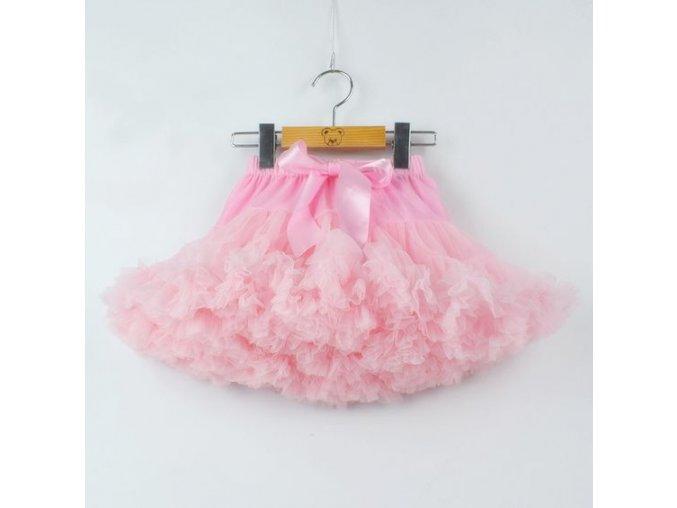 Dívčí TUTU PETTI sukýnka - růžová