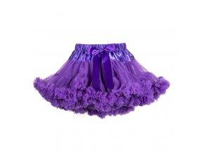 Dívčí TUTU PETTI sukýnka fialová