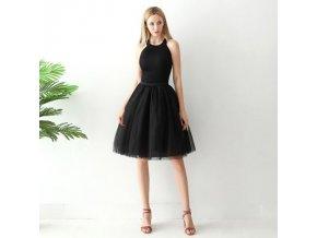 TUTU tylová sukně dámská černá 65 cm