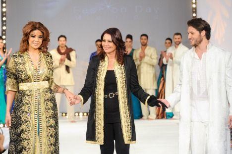 Šaty jako z pohádky Tisíce a jedné noci - Najia Abadi